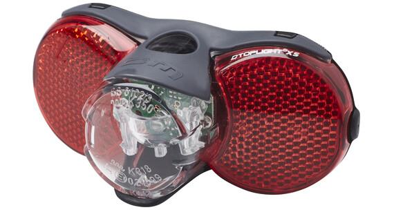 Busch + Müller D-Toplight XS/D-Toplight XS plus Dynamo rowerowe czerwony/czarny
